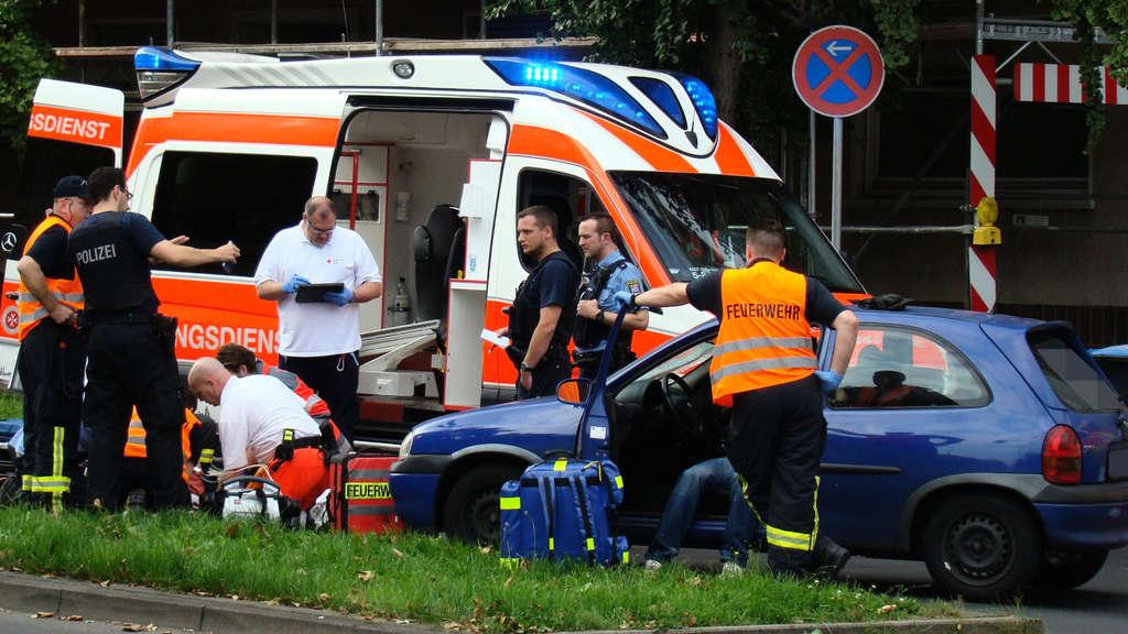 Unfall Gießen