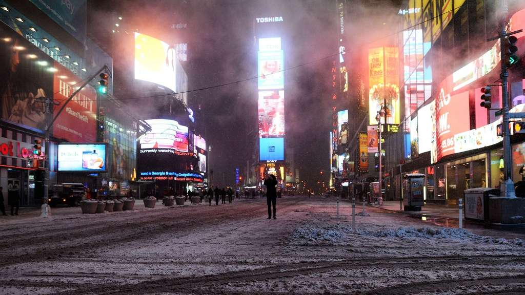 Blizzard: Entwarnung in New York - Bangen in Boston