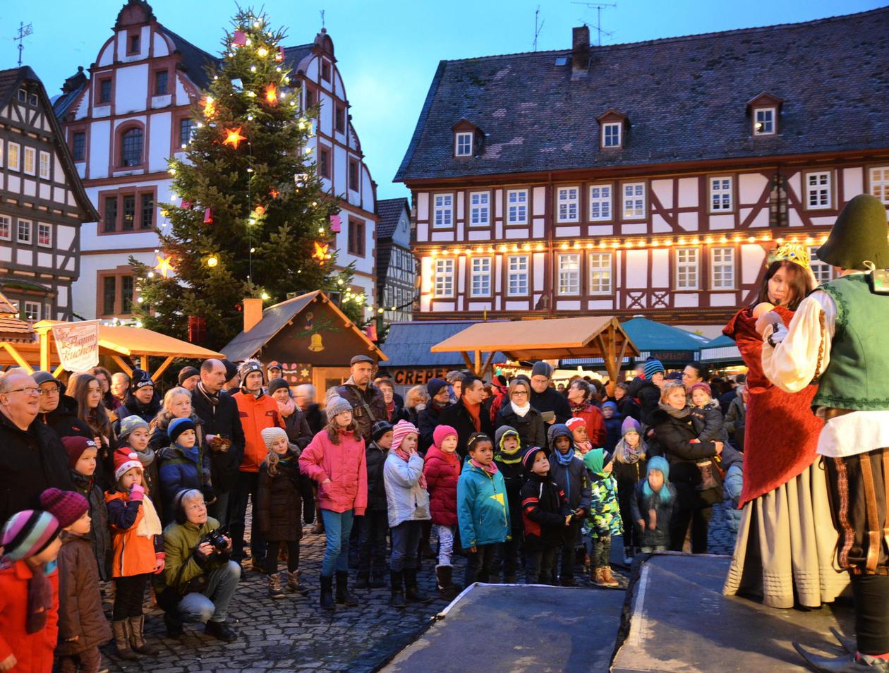 Alsfeld Weihnachtsmarkt.Heute Startet Der Weihnachtsmarkt In Alsfeld Alsfeld