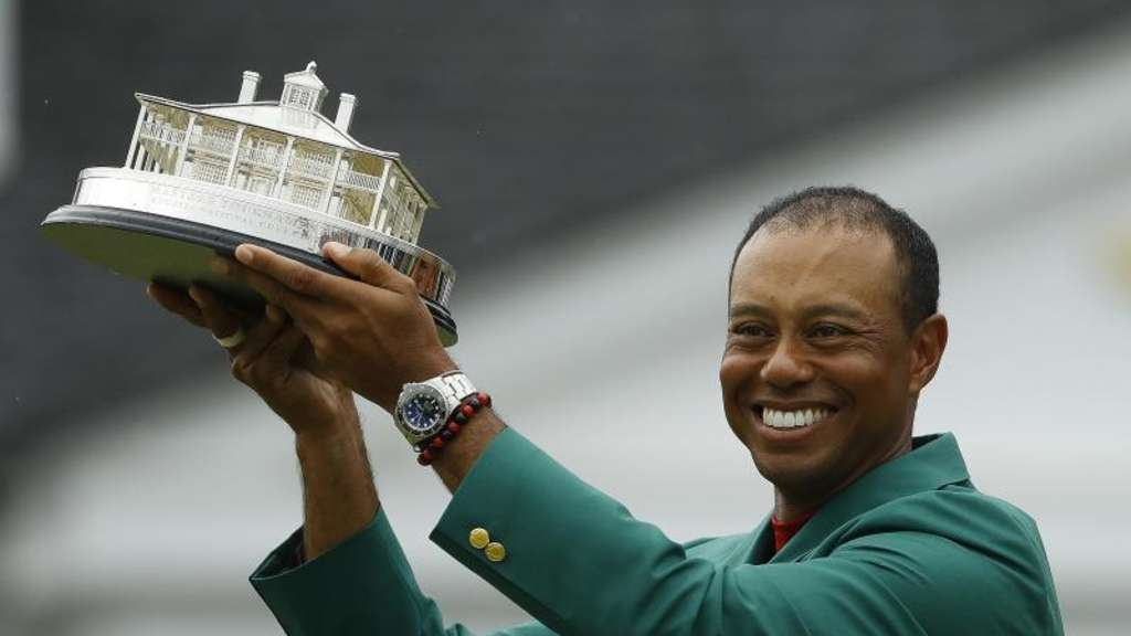 Superstar Tiger Woods feiert Comeback-Triumph in Augusta