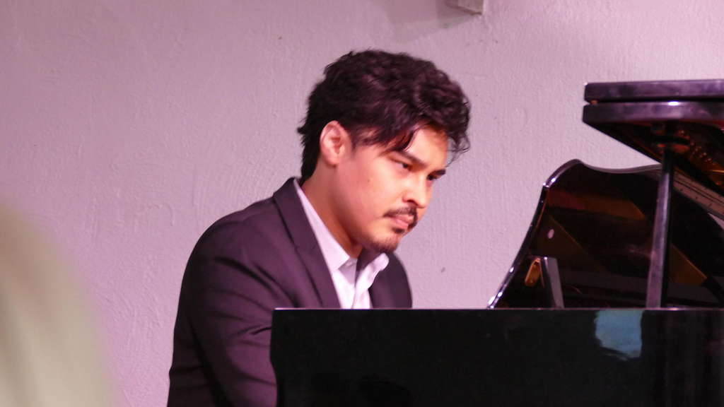 Star-Pianist Christopher Park.