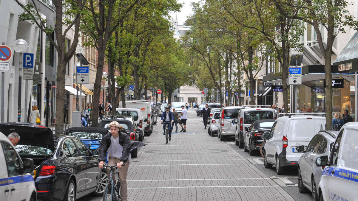 Parken Innenstadt Frankfurt