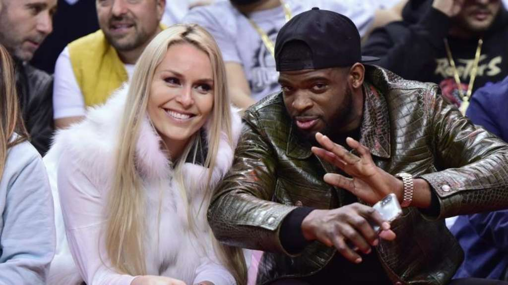 Lindsey Vonn und P.K. Subban wollen heiraten. Foto: Frank Gunn/The Canadian Press/AP