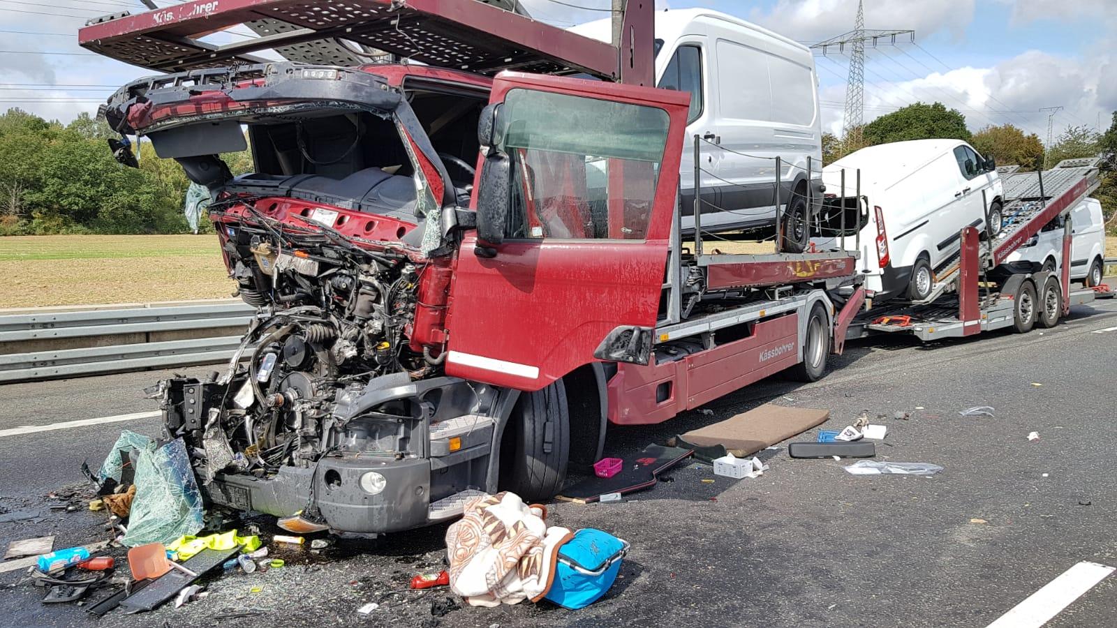 A7 Unfall Kassel