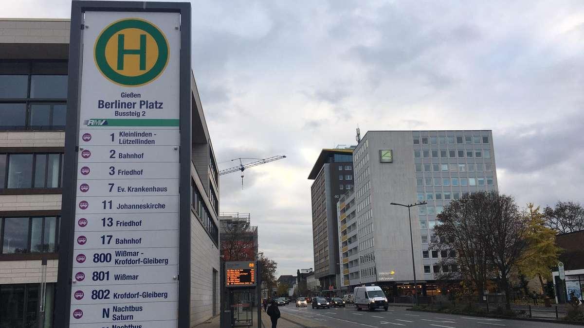 Busstreik Gießen