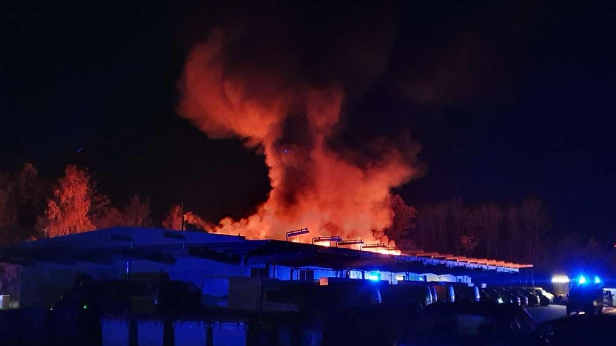 Alsfeld: Brand in Postverteilzentrum beeinträchtigt Verteilung von Briefen - Vermutung zu Ursache des Feuers   Vogelsbergkreis - Gießener Allgemeine