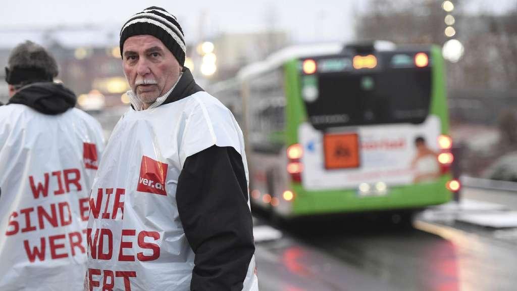 Busstreik Giessen