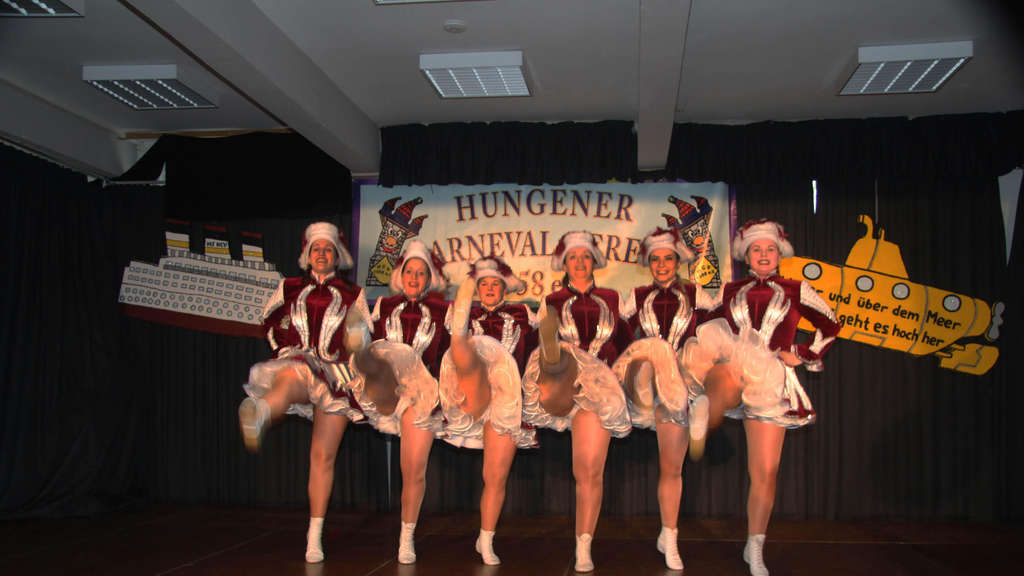 "Die ""Dancing Girls"" in Aktion. FOTO: TR"