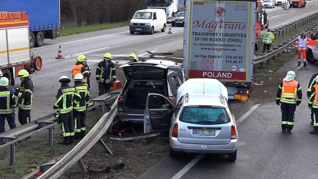Unfall A67 Lorsch Heute