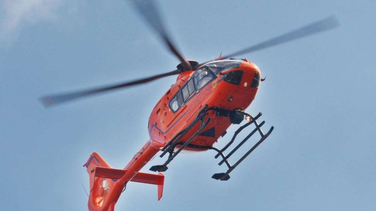 Hubschrauber über Limburg
