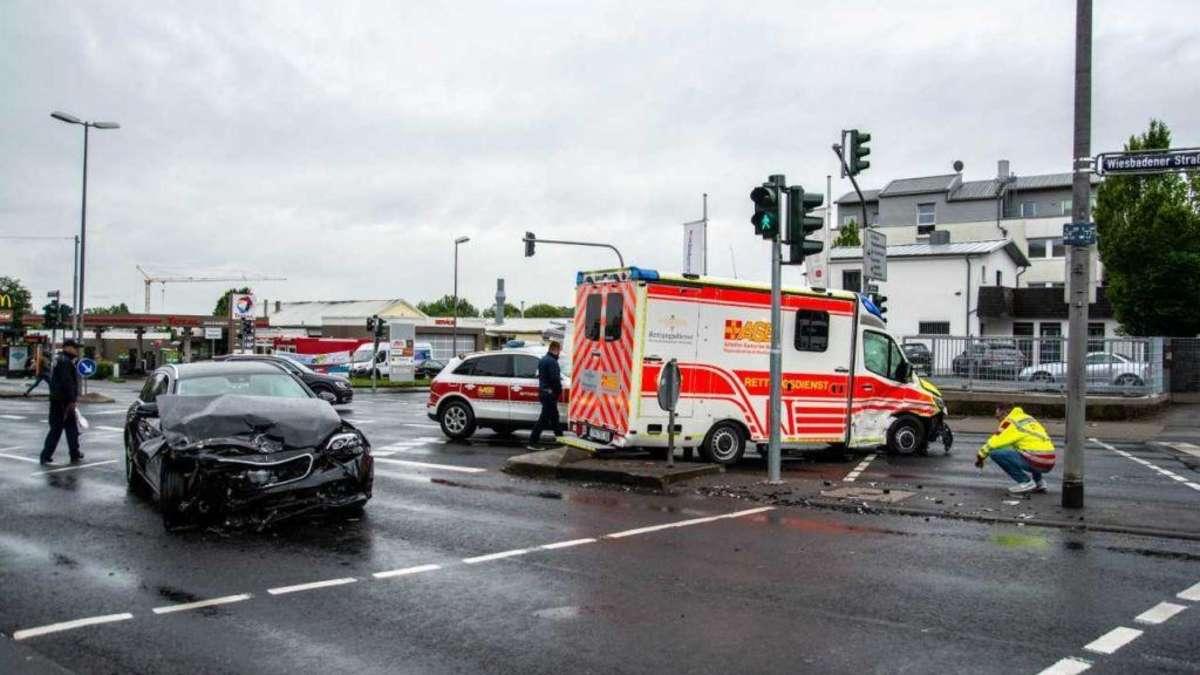 Unfall Wiesbaden