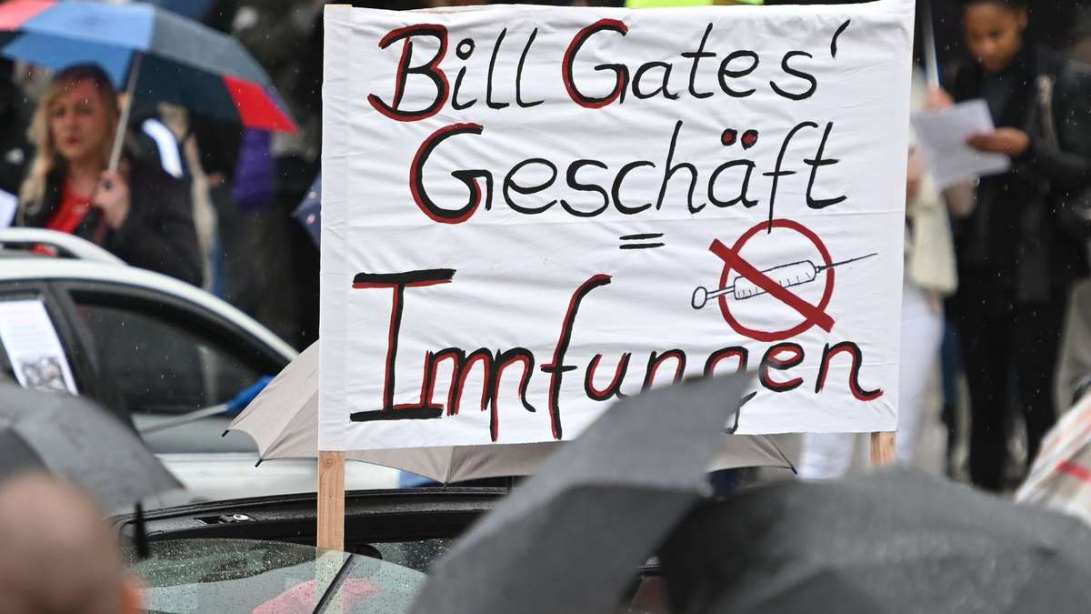 Verschwörungstheorien Bill Gates