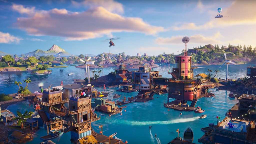 Fortnite Season 3: Neuer Trailer zeigt die geflutete Map