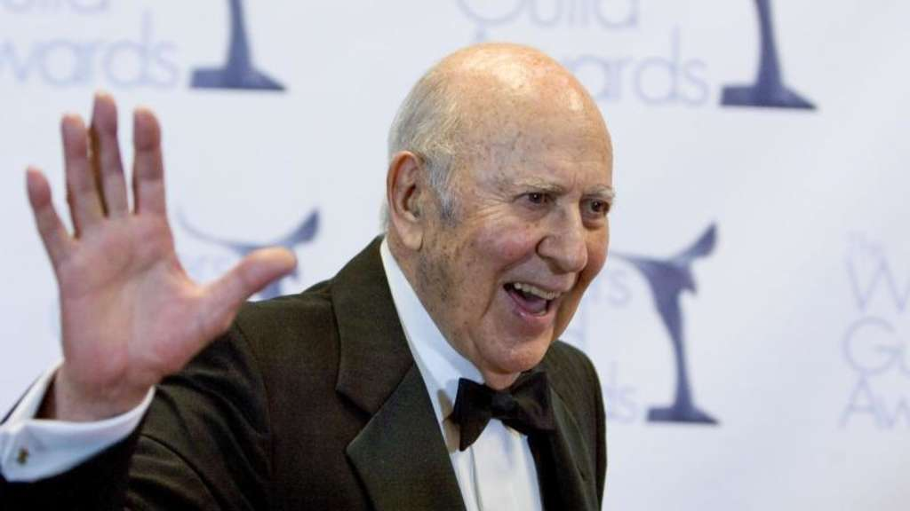 Carl Reiner bei den Writers Guild Awards 2009. Foto: Antonio Nava/Prensa Internacional via ZUMA/dpa