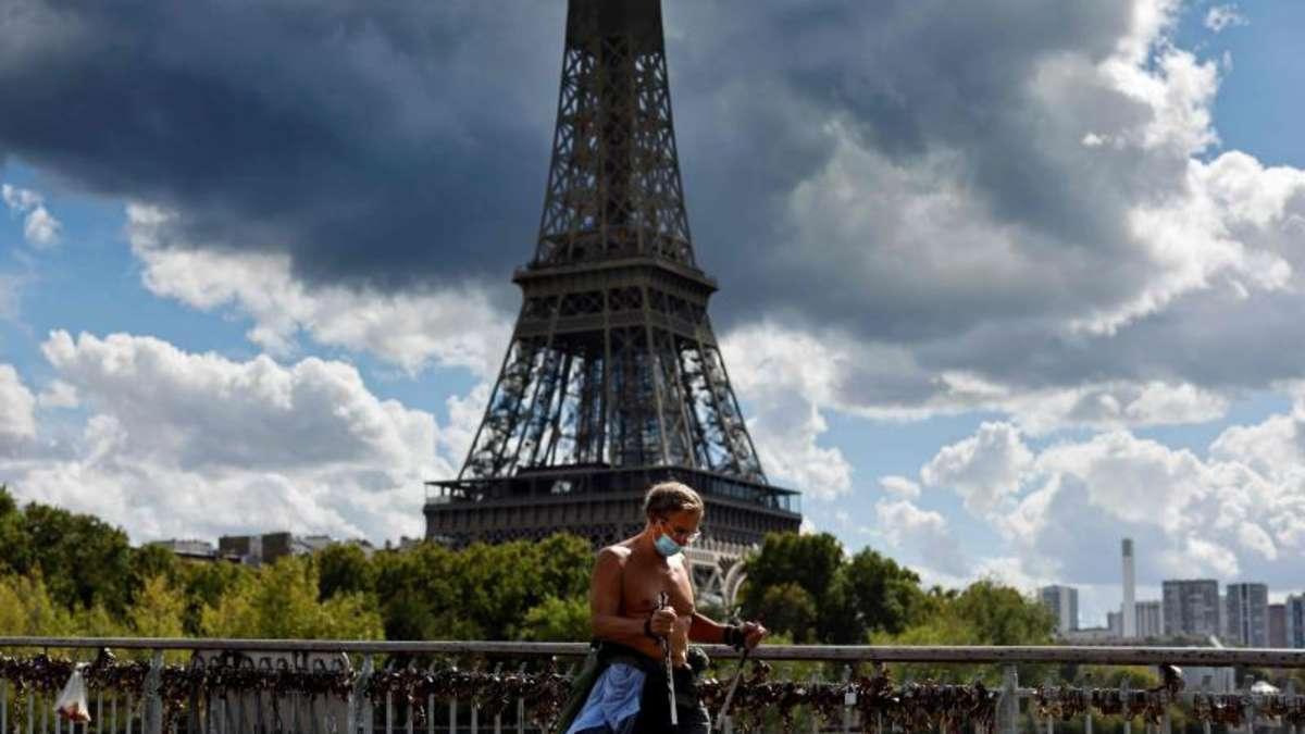 Corona Situation Frankreich