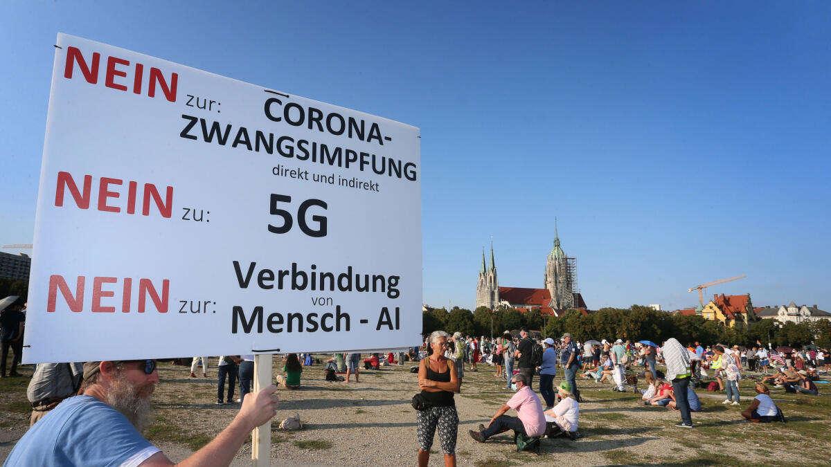 München Corona Demo